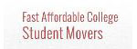 Fast Affordable Student Movers Inc